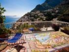 Spectacular views from this Positano rental