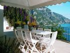 Gorgeous views from this Positano rental