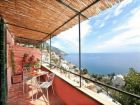 Gorgeous views from this Positano vacation rental