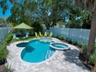 Beautiful island bungalow in Holmes Beach, Florida with pool-hot tub