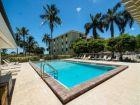 Large swimming pool in Sanibel Island rental condo