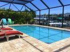 Three Bedroom Vacation Rental Large Screened Pool