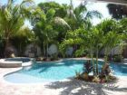 Anna Maria, Florida rental home with tropical pool