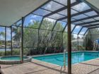 Canalside rental home with pool in Siesta Key, Florida