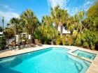 Canalside rental home with pool in Anna Maria, Florida