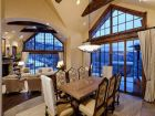 Mountain view dining area