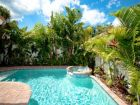 Steps to beach home with pool & spa in Holmes Beach, Florida