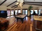 T.V. Den with Pool Table
