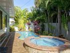 Walk to Beach Home with Private Pool & spa