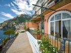 Views of the Coast from this Positano Renta