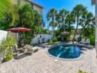 Siesta Key Village home with pool